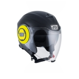 prilba AGV FLUID Matt Black/Yellow