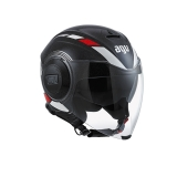 prilba AGV FLUID Equalizer Black/Grey
