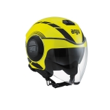 prilba AGV FLUID Equalizer Yellow Fluo/Black
