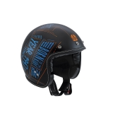 prilba AGV RP60 Blackboard Matt Black/Blue/Orange