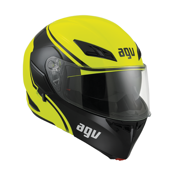 prilba AGV Compact COURSE Yellow/Black