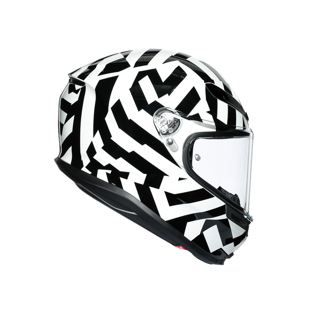 prilba AGV K6 SECRET Black/White
