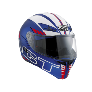prilba AGV Compact Seattle Matt Blue/White/Red