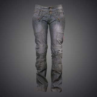 Motorifle 4SR Jeans Lady Star Grey