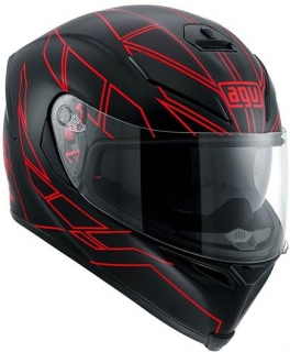 prilba AGV K5 S HERO Black/Red
