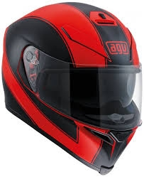 prilba AGV K5 S Enlace Red Matt/Black