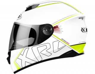 prilba XRC 965014 BEYOND RACE white/fluo