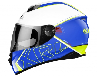 prilba XRC 965013 BEYOND RACE blue/white/fluo