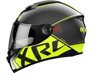 prilba XRC 965008 BEYOND RACE black/fluo