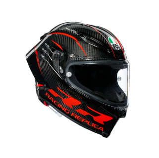 prilba AGV Pista GP RR PERFORMANCE Carbon/Red