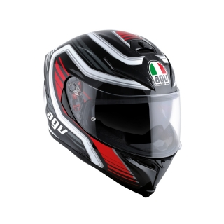 prilba AGV K5 S FIRERACE Black/Red