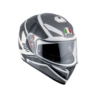 prilba AGV K3 SV PULSE WHITE/BLACK/GUN METAL