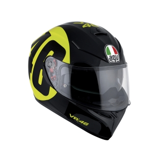 prilba AGV K3 SV BOLLO 46 BLACK/YELLOW