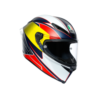 prilba AGV Corsa R SUPERSPORT BlueRed/Yellow