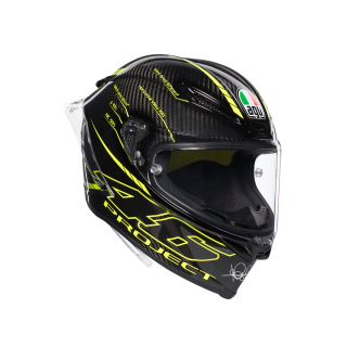 prilba AGV Pista GP R TOP - PROJECT 46 3.0 CARBON