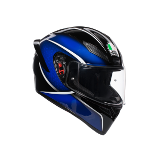 prilba AGV K1 QUALIFY BLACK/BLUE