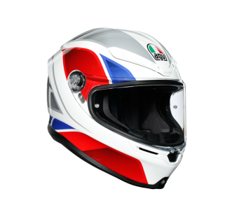prilba AGV K6 HYPHEN White/Red/Blue
