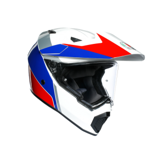 prilba AGV AX9 ATLANTE WHITE/BLUE/RED